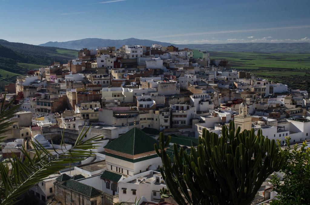 Village de Moulay Idriss Zerhoun au Maroc