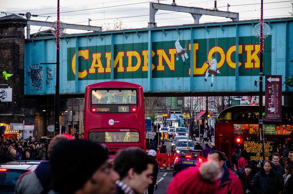 Quartier Camdem à Londres