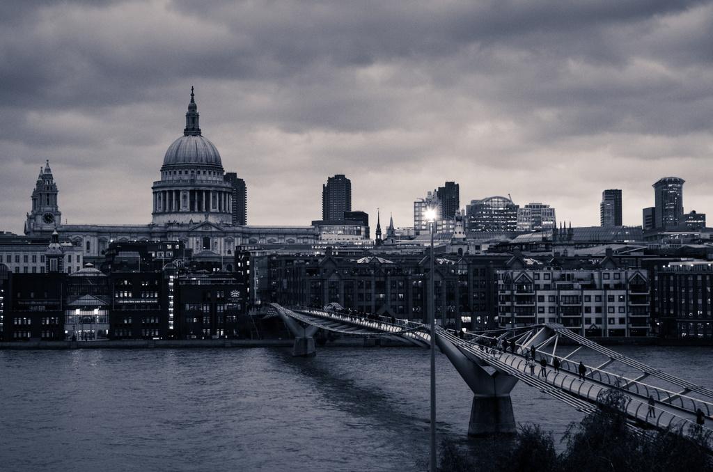 Londres vue depuis la Tate Modern