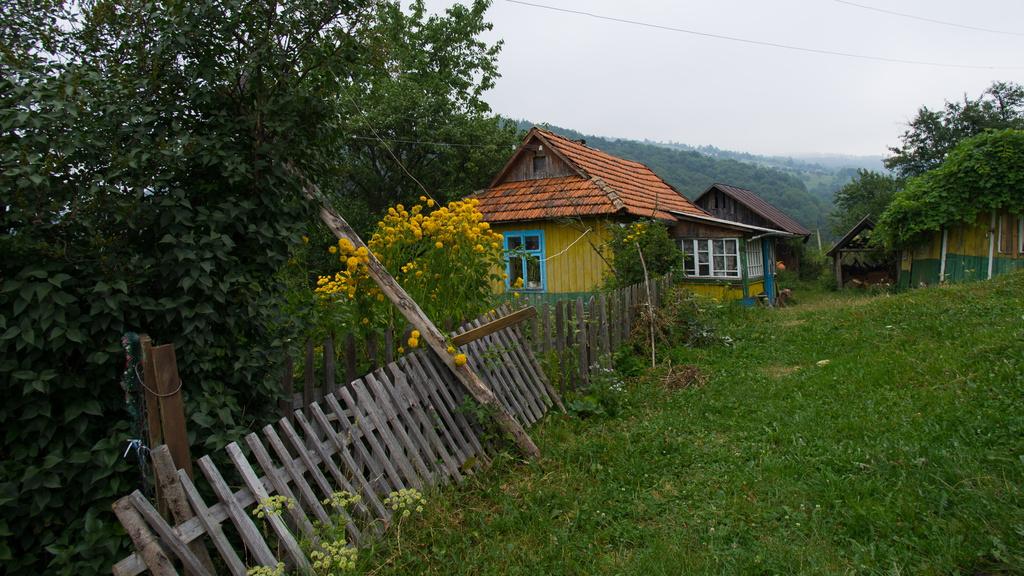 Balade autour de Yaremche dans les Carpates en Ukraine